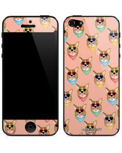 Corgi Love iPhone 5/5s/SE Skin
