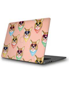 Corgi Love Apple MacBook Pro Skin