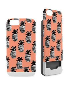 Gray Scale Pineapple iPhone 6/6s Wallet Case