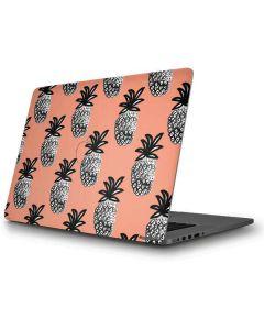 Gray Scale Pineapple Apple MacBook Pro Skin