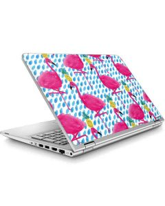 Party Flamingos ENVY x360 15t-w200 Touch Convertible Laptop Skin