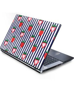 Strawberries and Stripes Generic Laptop Skin