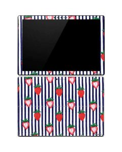 Strawberries and Stripes Surface Pro 4 Skin