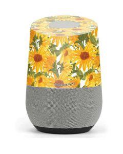 Sunflowers Google Home Skin