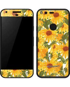 Sunflowers Google Pixel Skin