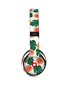 Tropical Leaves and Citrus Beats Solo 3 Wireless Skin