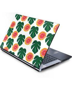 Tropical Leaves and Citrus Generic Laptop Skin