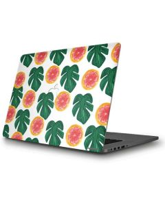 Tropical Leaves and Citrus Apple MacBook Pro Skin