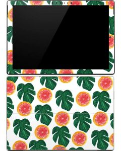 Tropical Leaves and Citrus Surface Pro (2017) Skin