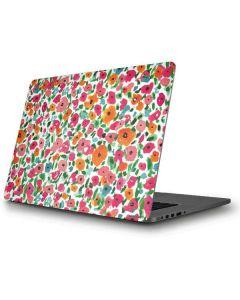 Watercolor Floral Apple MacBook Pro Skin