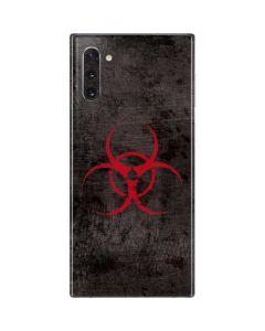 Biohazard Red Galaxy Note 10 Skin