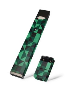 Black & Green Juul E-Cigarette Skin