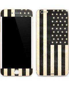 Black & White USA Flag iPhone 6/6s Plus Skin