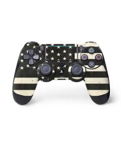 Black & White USA Flag PS4 Pro/Slim Controller Skin