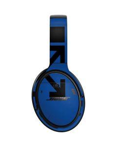 Black and Blue Arrows Bose QuietComfort 35 Headphones Skin