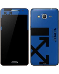 Black and Blue Arrows Galaxy Grand Prime Skin