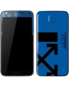 Black and Blue Arrows Galaxy S5 Skin