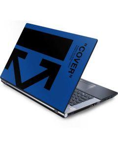 Black and Blue Arrows Generic Laptop Skin