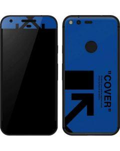Black and Blue Arrows Google Pixel Skin