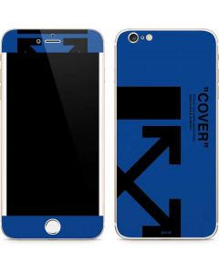 Black and Blue Arrows iPhone 6/6s Plus Skin