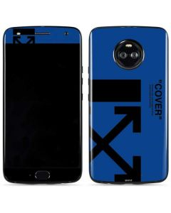 Black and Blue Arrows Moto X4 Skin
