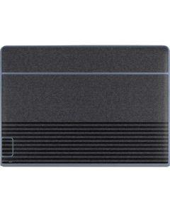 Black and Grey Stripes Galaxy Book Keyboard Folio 12in Skin