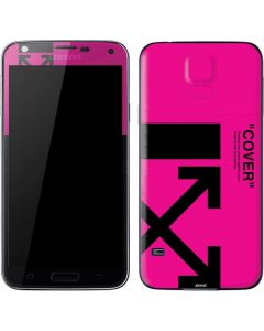 Black and Pink Arrows Galaxy S5 Skin
