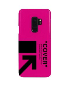 Black and Pink Arrows Galaxy S9 Plus Lite Case
