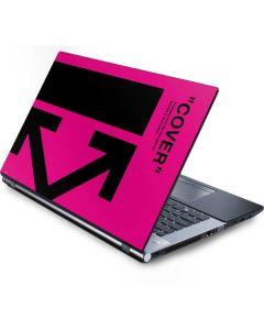 Black and Pink Arrows Generic Laptop Skin