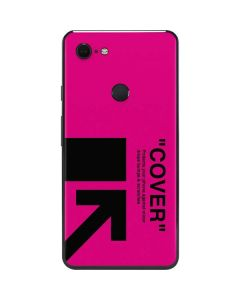 Black and Pink Arrows Google Pixel 3 XL Skin