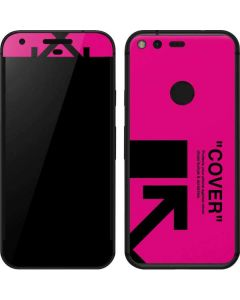 Black and Pink Arrows Google Pixel Skin