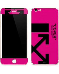 Black and Pink Arrows iPhone 6/6s Plus Skin