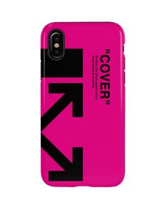 Black and Pink Arrows iPhone XS Max Pro Case