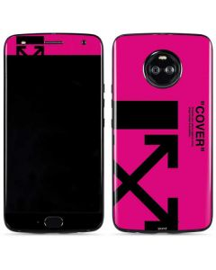 Black and Pink Arrows Moto X4 Skin