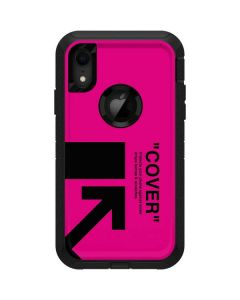 Black and Pink Arrows Otterbox Defender iPhone Skin