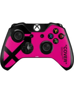 Black and Pink Arrows Xbox One Controller Skin