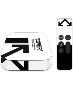 Black and White Arrows Apple TV Skin