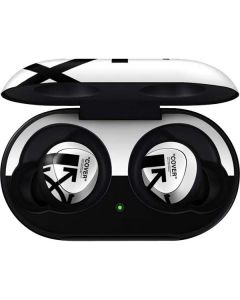 Black and White Arrows Galaxy Buds Skin