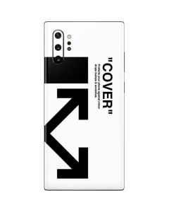 Black and White Arrows Galaxy Note 10 Plus Skin