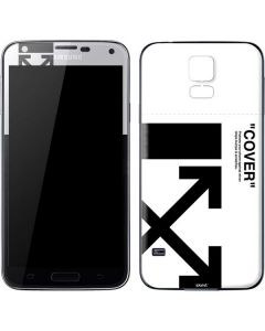 Black and White Arrows Galaxy S5 Skin