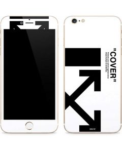 Black and White Arrows iPhone 6/6s Plus Skin