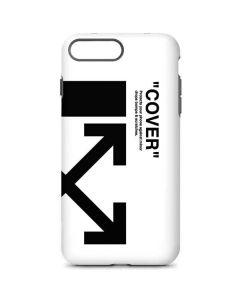 Black and White Arrows iPhone 8 Plus Pro Case