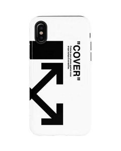 Black and White Arrows iPhone XS Pro Case