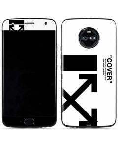 Black and White Arrows Moto X4 Skin