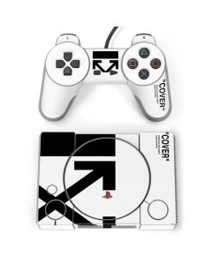 Black and White Arrows PlayStation Classic Bundle Skin
