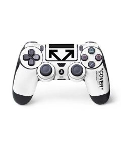 Black and White Arrows PS4 Controller Skin