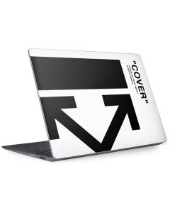 Black and White Arrows Surface Laptop 2 Skin