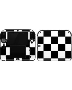 Black and White Checkered 2DS Skin