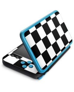Black and White Checkered 2DS XL (2017) Skin