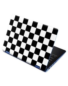 Black and White Checkered Aspire R11 11.6in Skin